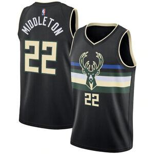 Men's Milwaukee Bucks Jordan Statement Swingman Jersey - Khris Middleton
