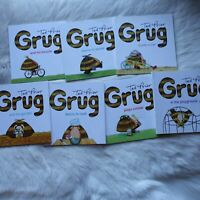 GRUG by Ted Prior 7 Pack CHILDREN Picture BOOKS Australia FICTION Early READERS