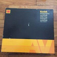 Kodak Carousel Ektagraphic Universal Slide Tray Model 2 For 80 Slides In Box