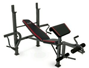 CAP Strength Standard Bench with Butterfly and Preacher Curl new