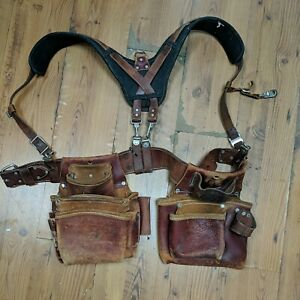 Occidental leather Tool Bags Belt Pouches w/ Overall 5018 5060