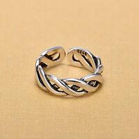 Charm Hollow Original Handmade Twist Rings Women Knuckle Ring Jewelry Gift JA
