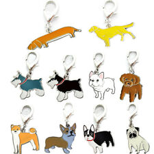 Dog Tag Disc Disk Pet ID Metal Enamel Accessories Collar Necklace Pendant