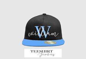 Personalized custom name and initial snapback cap youths B615