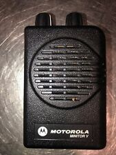 Motorola Minitor V No Battery Or Chargerclip Please See All Pics For Details