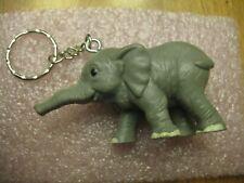 ELEPHANT FIGURINE KEY RING NEW