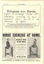 1894 Caballo ejercicio en casa Silla Caballo De Acción De Hercules