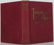 EDGAR RICE BURROUGHS Tarzan and the Apes FIRST EDITION