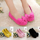 New Children Toddler Bow Flower Princess Shoes Girls Kids Flats Casual Party