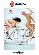Atala Girls A4 poster  Campagnolo Super Record Colnago Master Bianchi
