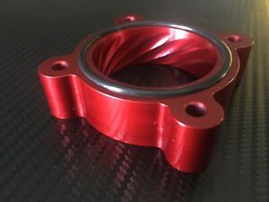 (X729-BR) RED Throttle Body Spacer for 2013 - 2017  Hyundai VELOSTER  1.6l