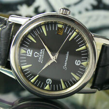 OMEGA Seamaster Automatic Date Steel Mens Vintage Watch C. 1968s