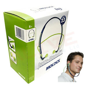 MOLDEX Banded Earplugs 6700 Jazz Band Banded Ear Plugs Ear Protection SNR 23 dB