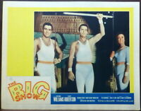 Circus The Big Show LOT 2 Original 1961 Lobby Cards Trapeze Cliff Robertson