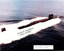 Submarine USS LAFAYETTE SSBN-616 Photograph Autograph by Commanding Officer