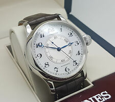 Mint Longines Heritage Weems Second-Setting 47MM Automatic Watch Ref L2.713.4