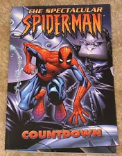 THE SPECTACULAR SPIDER-MAN COUNTDOWN TPB GRAPHIC NOVEL VF-NM  NICE BOOK