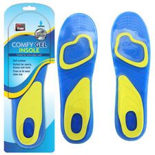 COMFY GEL INSOLES FOR MEN 2PC SPORT PAD FOOT PROTECTOR RUNNING ORTHOTICS FEET