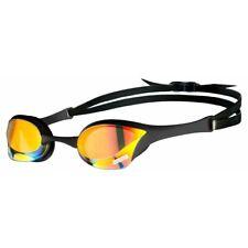 Arena Cobra Ultra Swipe Mirror Adult Racing Swimming Goggles YELLOW COPPER-BLACK