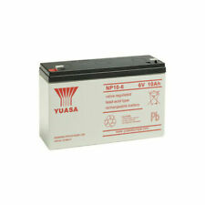 Yuasa NP10-6 6V 10Ah Batterie de Moto