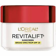 L'Oreal Revitalift Anti-Wrinkle + Firming Day Cream Moisturizer, SPF 25, 1.7 oz