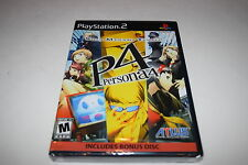 Shin Megami Tensei Persona 4 Sony Playstation 2 PS2 Video Game New Sealed