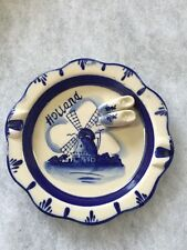 Blue Delft Plate 4 Inch Made By The Dutch