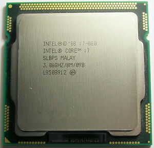 Intel Core i7 Quad Core i7-880 3.06GHz / 8MB Socket LGA1156 SLBPS Processor
