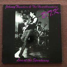 Johnny Thunders  - Live at the Speakeasy - 1982 original NM NEVER PLAYED vinyl