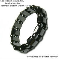 Biomagnetism Weight Loss Health Care Magnetic Therapy Round Stone Bracelet MR
