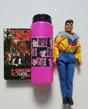 new kids on the block jordan knight doll with vhs tape and water bottle lot