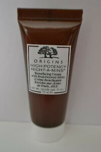 Origins High-Potency Night-a-Mins Resurfacing face cream travel size 15ml