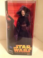 "NEW STAR WARS BARRISS OFFEE 12"" ACTION FIGURE DOLL REVENGE OF SITH DISNEY LUCAS"