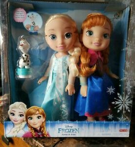 Disney Frozen Sisters Anna and Elsa Dolls