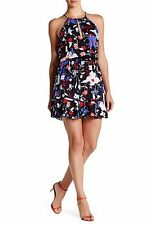 PARKER Nathan Coasta Floral Print Dress Size L NEW $265