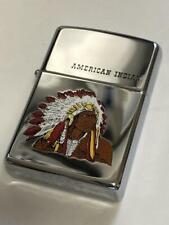 Zippo Oil Lighter Rare Lighter Vintage Indian Native American