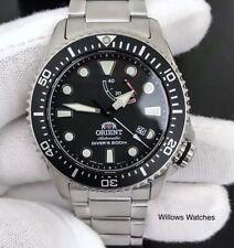 Orient Triton Automatic 200M Sapphire Crystal Black Dial Watch RA-EL0001B00B