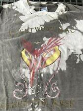 Vintage 1990 Fleetwood Mac Tie Dye Behind The Mask Concert Tour T Shirt Xl