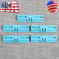 SET OF 5 NEW FOR LEXUS WINDSHIELD MOULDING CLIPS 75545-53011 GX460 IS250 IS350