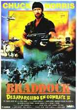 Braddock Missing In Action 3 Poster 01 Metal Sign A4 12x8 Aluminium