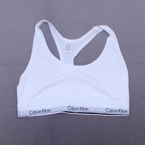 Calvin Klein Modern Cotton Bralette. F3785 White L