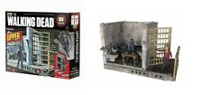 THE WALKING DEAD TV SERIES UPPER PRISON CELL BUILDING CONSTRUCTION SET McFARLANE