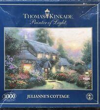 Thomas Kinkade 1000 Piece Puzzle Julianne's Cottage