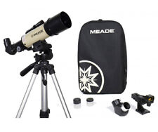Meade Refracting Telescope Space Star Observer Scientist Galaxy View Magnifier