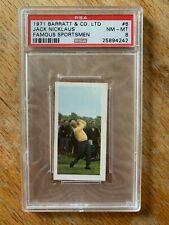 New listing 1971 Barratt & Co. Limited Jack Nicklaus True Rookie RC #6 - PSA 8 - Near Mint