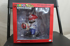 "Mario + Rabbids Kingdom Battle Rabbid Statue Six-Inch 6"" Nintendo Switch Bros"