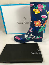 NWT Vera Bradley Rain Boots in Santiago Floral Size 6