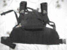 VIPER commando MOLLE CHEST RIG HARNESS SAS SF POLICE black USED