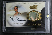 VARIANT  Outlander CZX Autograph Wardrobe Card CSW Claire Sermonne - 004/125