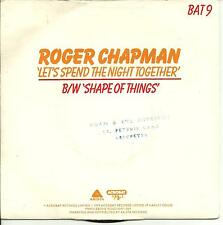 ROGER CHAPMAN - LET'S SPEND THE NIGHT TOGETHER / SHAPE OF THINGS - 70s POP ROCK
